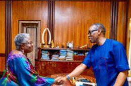 Okowa congratulates Okonjo-Iweala